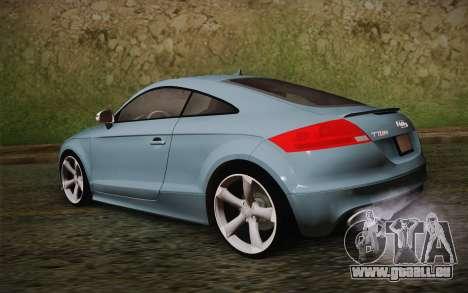 Audi TT RS 2011 pour GTA San Andreas laissé vue