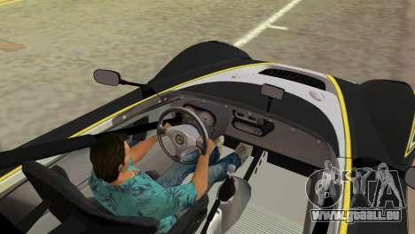 Lotus 2-Eleven für GTA Vice City zurück linke Ansicht