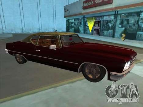 Yardie Lobo from GTA 3 für GTA San Andreas linke Ansicht