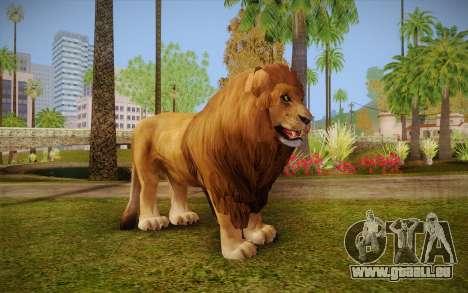 Lion pour GTA San Andreas