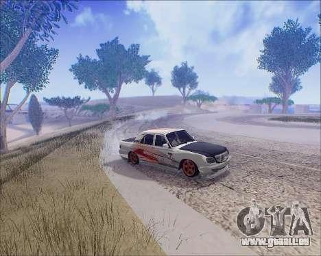 GAZ 31105 Accordables pour GTA San Andreas vue de côté