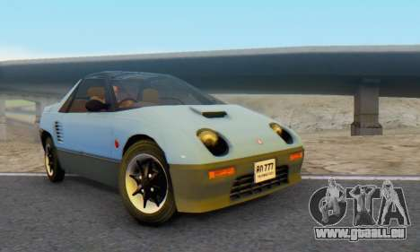 Mazda Autozam AZ-1 für GTA San Andreas