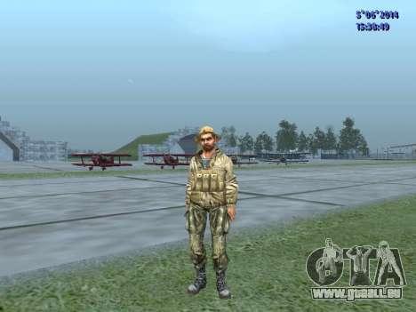 L'atmosphère de soldat de l'URSS pour GTA San Andreas troisième écran