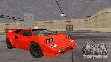 Lamborghini Countach LP5000 Extreme für GTA Vice City