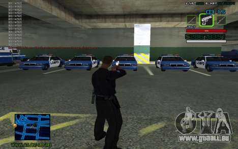 C-HUD by SampHack v.2 für GTA San Andreas zweiten Screenshot