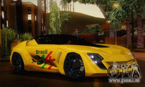 Bertone Mantide World Brasil 2010 für GTA San Andreas