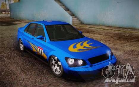 Sultan из GTA 5 pour GTA San Andreas salon