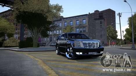 Cadillac Escalade pour GTA 4
