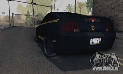 Ford Mustang Shelby Terlingua 2008 NFS Edition für GTA San Andreas linke Ansicht