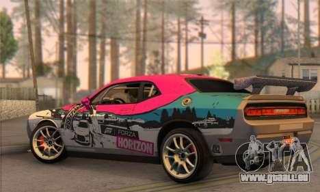 Dodge Challenger SRT8 2012 pour GTA San Andreas laissé vue