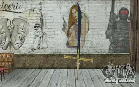 One Piece Black Sword pour GTA San Andreas
