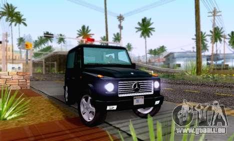 Mercedes-Benz G500 1999 Short für GTA San Andreas rechten Ansicht