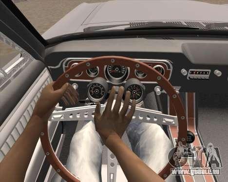 L'Animation en appuyant sur le signal pour GTA San Andreas troisième écran
