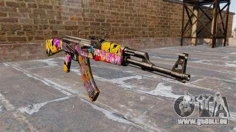 Die AK-47 Graffiti für GTA 4