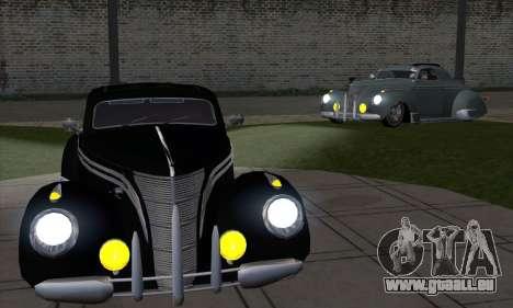 Lincoln Zephyr 1946 für GTA San Andreas rechten Ansicht
