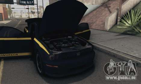Ford Mustang Shelby Terlingua 2008 NFS Edition pour GTA San Andreas vue de côté