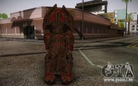 Theron Guard Cloth From Gears of War 3 v1 pour GTA San Andreas deuxième écran