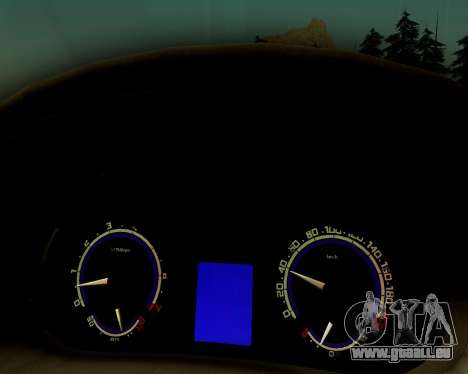 VAZ 2112 Accordables pour GTA San Andreas vue de droite