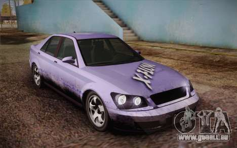 Sultan из GTA 5 pour GTA San Andreas moteur