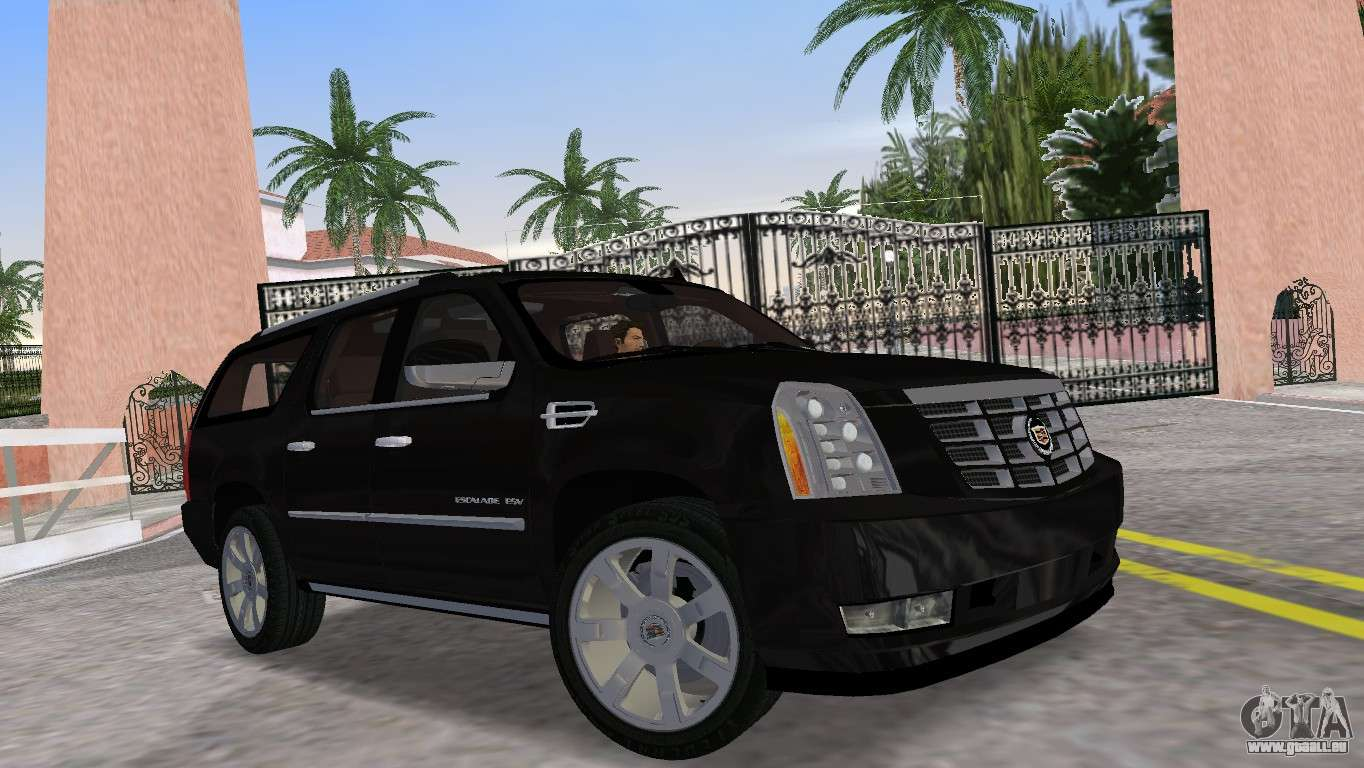 Cadillac Escalade Esv Luxury 2012 Pour Gta Vice City