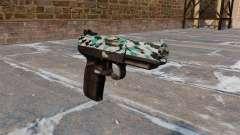 Pistolet FN Cinq à sept Aqua Camo