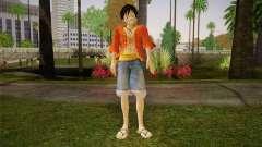 One Piece Monkey D Luffy für GTA San Andreas
