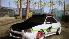 Subaru Impreza Hellaflush
