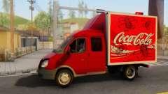 33023 GAZelle Coca-Cola pour GTA San Andreas