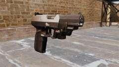 Pistolet FN Cinq à sept LAM Chrome