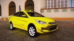 Hyundai Accent Taxi 2013
