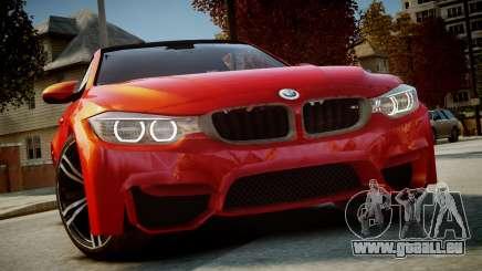 BMW M4 Coupe 2014 v1.0 für GTA 4