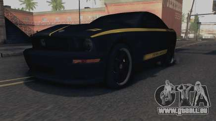 Ford Mustang Shelby Terlingua 2008 NFS Edition für GTA San Andreas