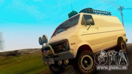 Dodge Tradesman Van 1976 für GTA San Andreas