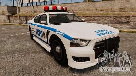 GTA V Bravado Buffalo LCPD pour GTA 4