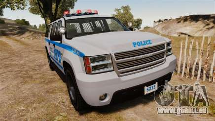 GTA V Declasse Granger NYPD pour GTA 4