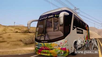 Marcopolo Paradiso 1200 Brazil Fifa World Cup pour GTA San Andreas