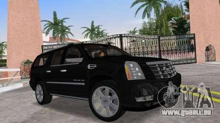 Cadillac Escalade ESV Luxury 2012 pour GTA Vice City