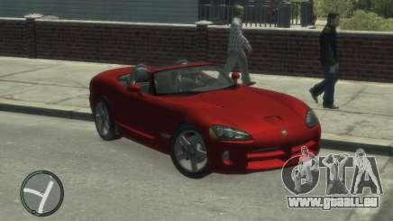 Dodge Viper SRT-10 2003 v2.0 pour GTA 4