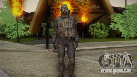 S.A.S Gas Mask pour GTA San Andreas