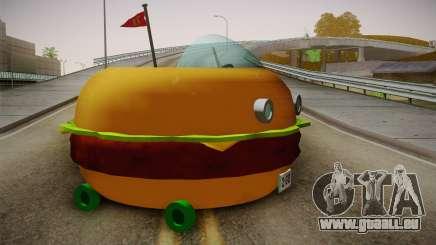 Spongebobs Burger Mobile pour GTA San Andreas