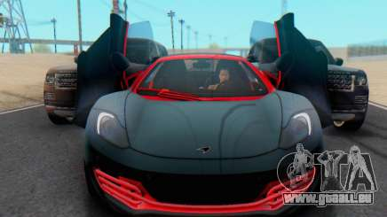 Mclaren MP4-12C Spider Sonic Blum pour GTA San Andreas