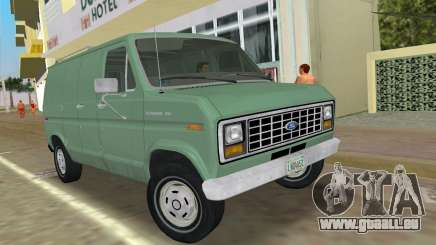 Ford E-150 1983 Short Version Commercial Van für GTA Vice City