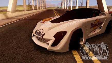 Bertone Mantide 2010 Hard Rock Cafe für GTA San Andreas