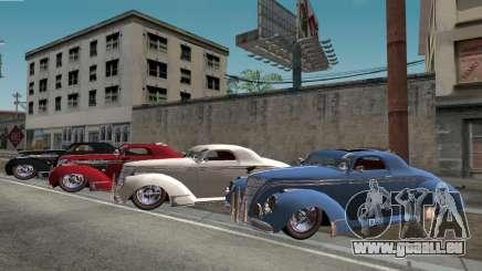 Lincoln Zephyr 1946 pour GTA San Andreas