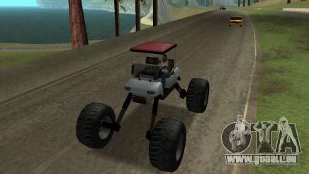 Caddy Monster Truck pour GTA San Andreas