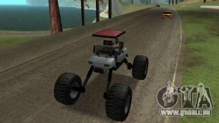 Caddy Monster Truck für GTA San Andreas