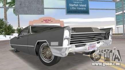 Cadillac DeVille 1967 Lowrider für GTA Vice City