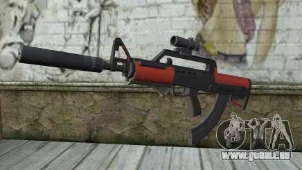 BullPup-Waffe из GTA 5 für GTA San Andreas