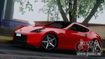 Nissan 370Z Vossen für GTA San Andreas