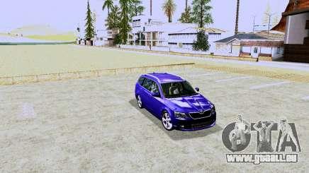 Skoda Octavia Combi A7 pour GTA San Andreas